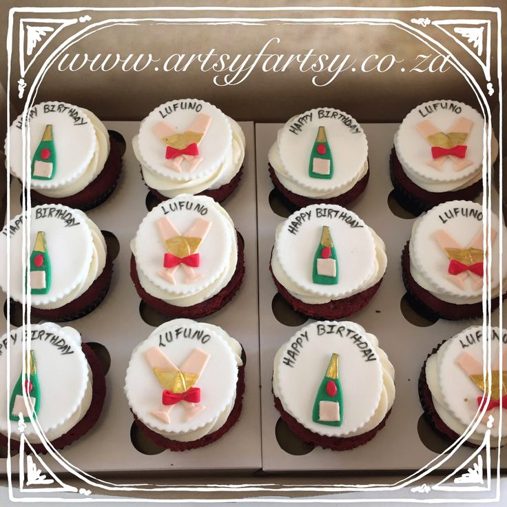 Champagne Cupcakes #champagnecupcakes
