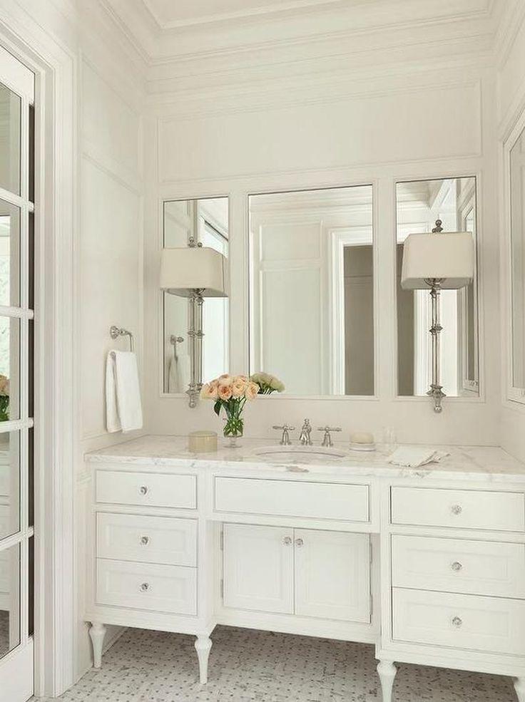 25 Elegant White Bathroom Vanity Ideas You Can Copy ...
