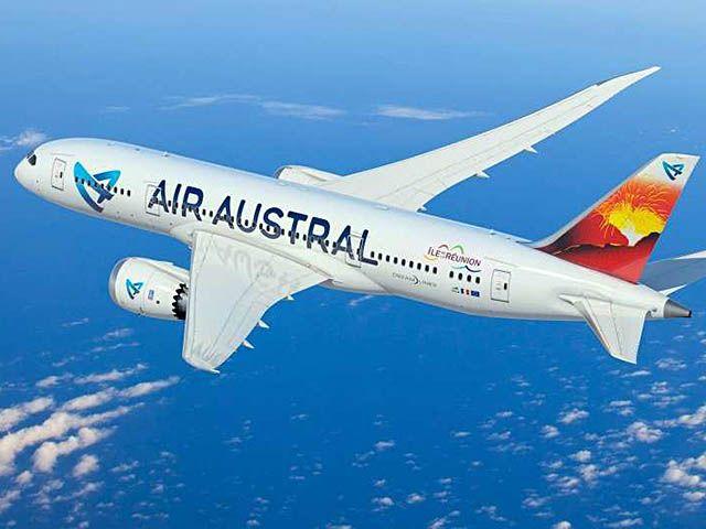 Air Austral lance la presse numérique gratuite sur vols long-courriers
