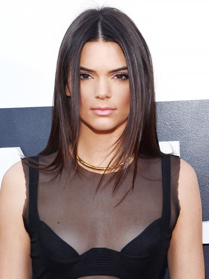 8 Ways to Style Centre-Parted Hair, Courtesy of Kendall Jenner via @ByrdieBeautyAU