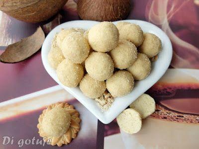 Di gotuje: Kuleczki chałwowe z kokosem