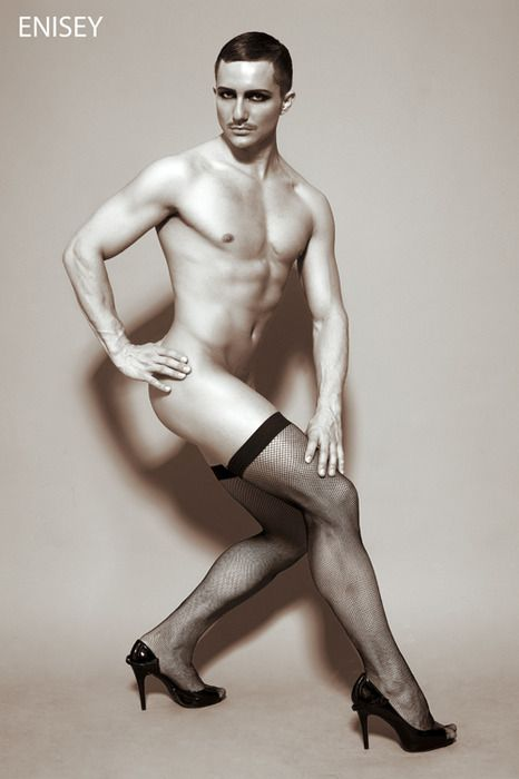 Man In Stockings 90