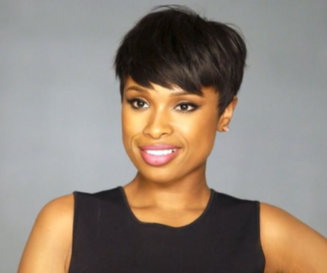Jennifer Hudson short hair cut