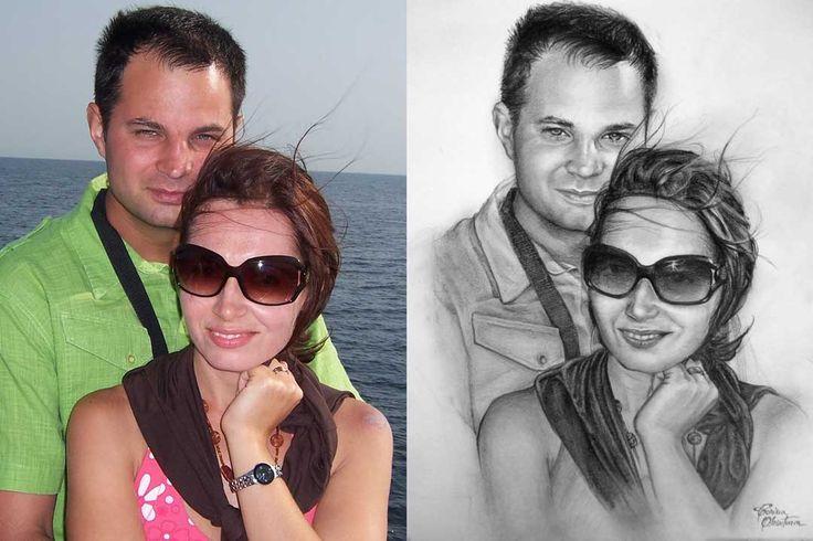 Desen după Imagine 27 - Desen în Creion de Corina Olosutean // Drawing from Picture 27 - Pencil Drawing by Corina Olosutean
