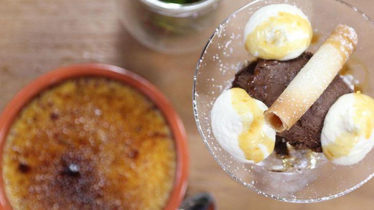Goed weekend met Vincent Banic: crème brûlée met speculaas, muntthee en chocoladesoufflé | VTM Koken