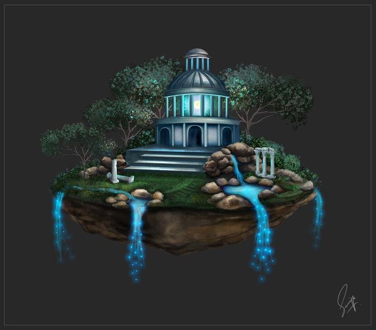 Floating Temple by Saniya Aslam