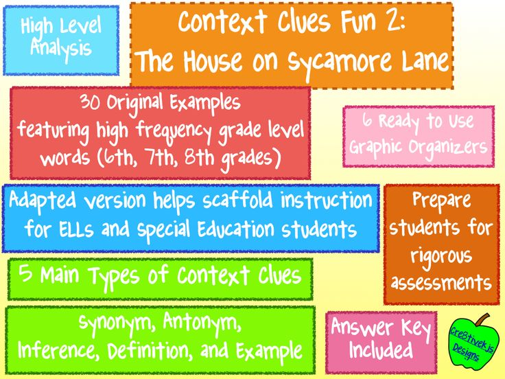 1000+ ideas about Context Clues Examples on Pinterest ...