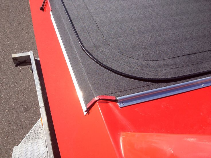 Holden Ute Tonneau with zipped/flap opening behind cab .