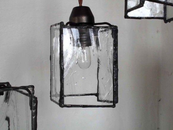 アルトドイッチェのペンダントランプ 四角 中サイズ ペンダントランプ ランプ ペンダント