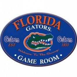 "Sports Fan Products SFP-5015-FLA Florida Gators Varsity 18"" x 24"" Oval ""Gameroom"" Sign"