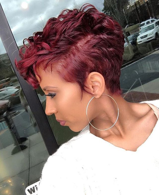 how to style a pixie cut black hair