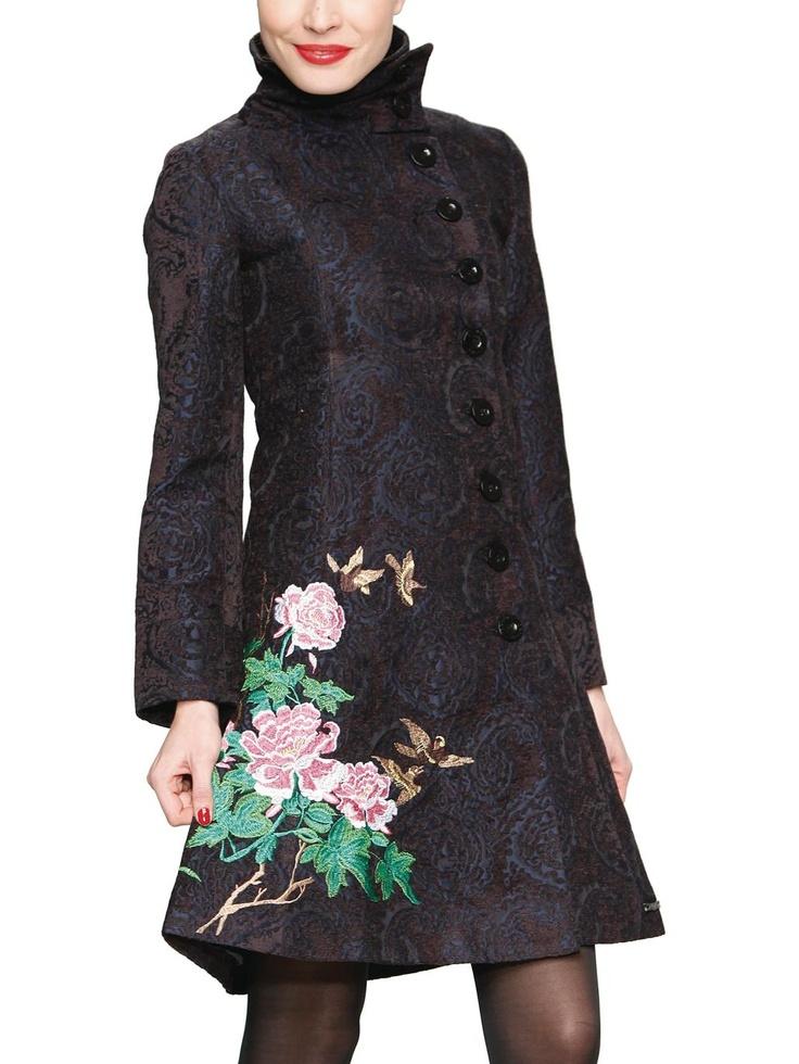 Desigual - coat Abrig Florencia