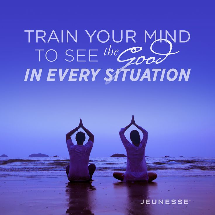 Train your mind to see the good in every situation.  -Unknown