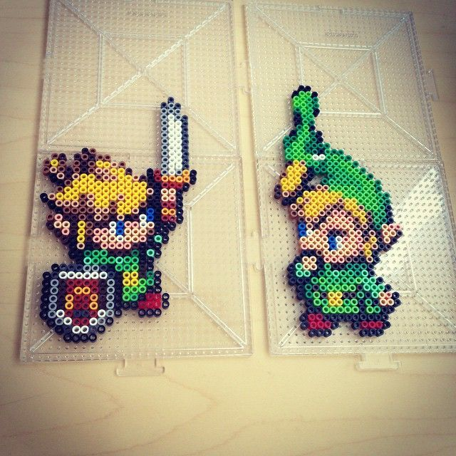 Legend of Zelda perler beads by smargetts
