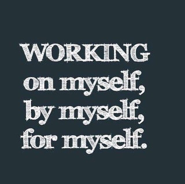 Yes.  #bymyself #independent #working #live #life
