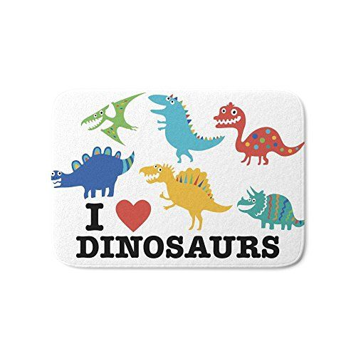 Society6 I Love Dinosaurs Bath Mat 17 Kids Bath Target Bath Rug Bath Runner Rugs