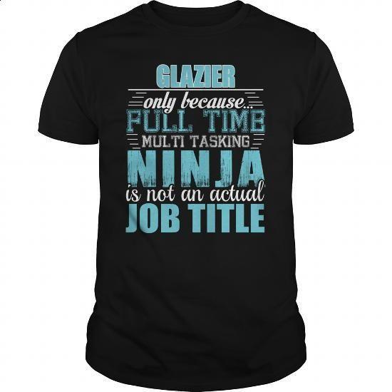 Glazier Ninja Tshirt - #hooded sweatshirt #cotton t shirts. I WANT THIS =>…