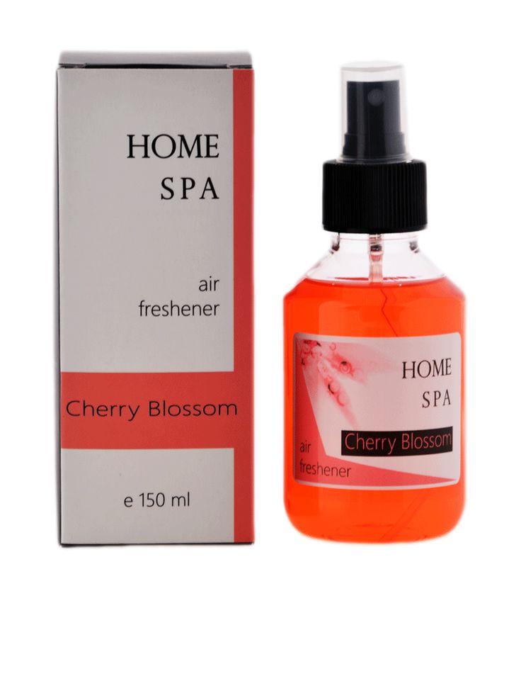 homme spa, air freshener, cherry blossom