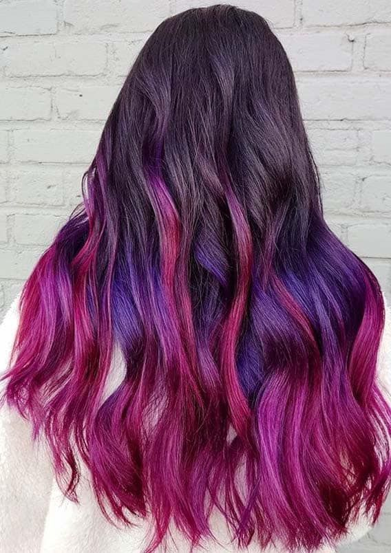 Best Balayage Pinks And Purple Hair Color Trends For Ladies In 2020 Cleverstyling In 2020 Hair Color Purple Hair Color Trends Purple Hair