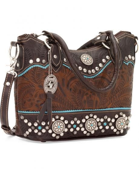 American West Women's Hayloft Convertible Tote Bag