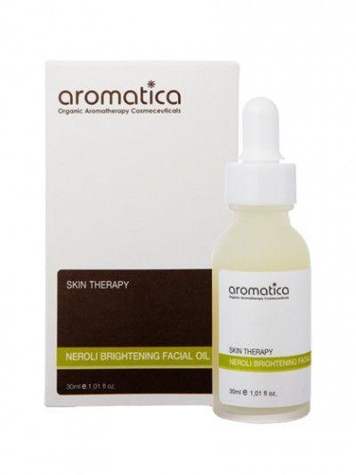 Neroli Brightening Facial Oil. Neroli er velegnet til alle hudtyper og aldre, men er særlig nyttig for den modne hud. Neroli dulmer betennelse, irritasjon og rødme. Den gir huden en penere glød og reduserer sprengte blodkar.