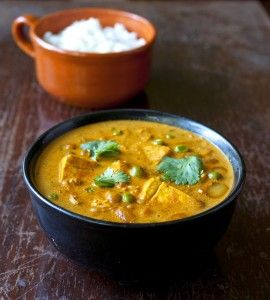 Tofu and Chickpea Curry with Green Peas | Feed me Seymour ...