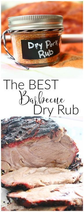 The best barbecue dry rub ever! Use it for pork, beef or chicken on the grill, oven or stovetop. Seriously this rub is so versatile you'll want to use it all the time!