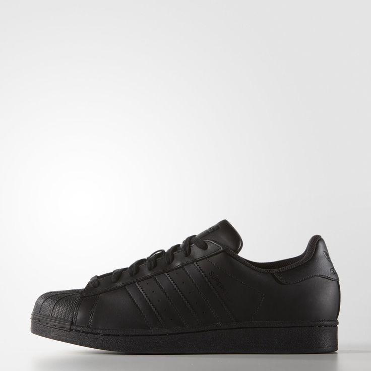 adidas Superstar Foundation Shoes - Black | adidas US
