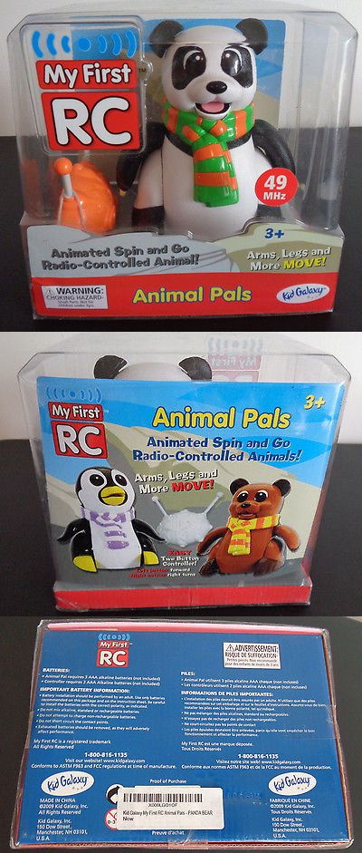 Animals 145942: Animal Pals My First Rc Radio Controlled Animal Panda Bear New In Box 2009 Toy -> BUY IT NOW ONLY: $34.39 on eBay!