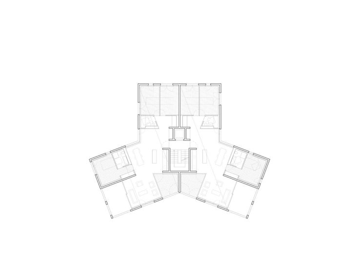 127 best typology images on pinterest architectural for Residential architectural drawings