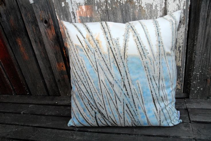 Talviaamu pillow - Taiga Colors Collection www.borneocolors.fi