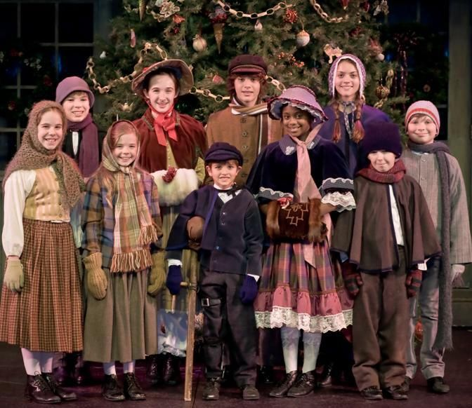 """A Christmas Carol"" at the Meadow Brook Theatre in Rochester Hills, Michigan."