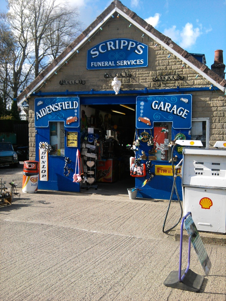 The garage in Goathland featured in the TV series Heartbeat.