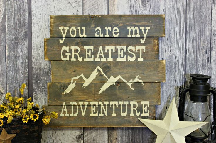 You Are My Greatest Adventure. Wedding. Rustic Decor. Country Decor. Handmade. Wood Sign. Gift. Made In Canada. Distressed. Wall Decor. by WhereTheCrowFliesCA on Etsy
