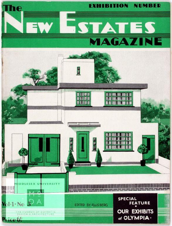 New Estates - 1930 Design
