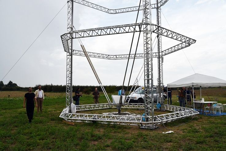 over the past three years, WASP project put together their dream of a 12 meters tall 3D printer that could contribute to the dramatic global housing issue.