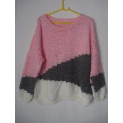 Sweaters Y Sacos Tejidos A Mano - $ 650,00