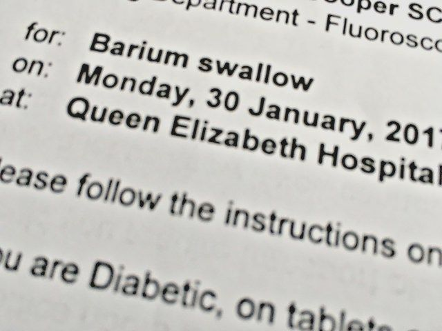 Barium Swallow Test for Dysphagia - When Tania Talks shares her experience and tips with POTS and EDS.