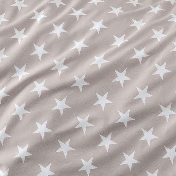 Janine Biber Bettwäsche Sterne taupe online kaufen