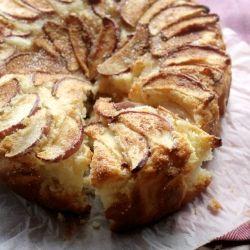 Apple yogurt tea cake