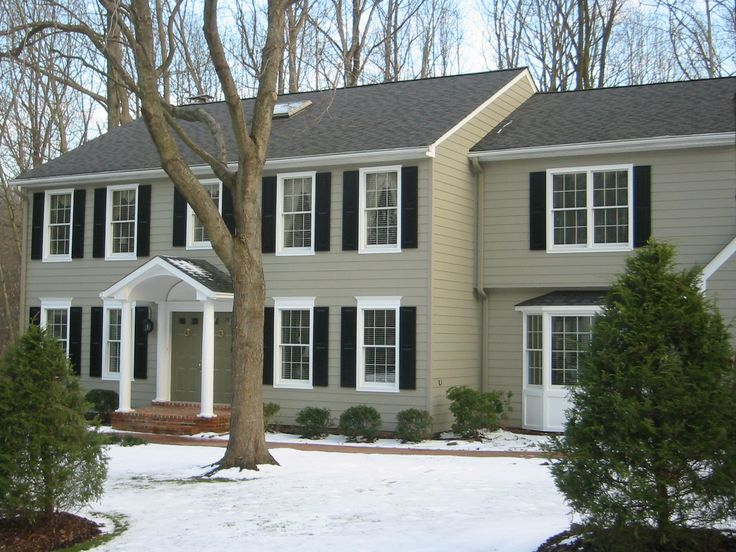 James Hardie Siding And New Trim Installed By Colonial