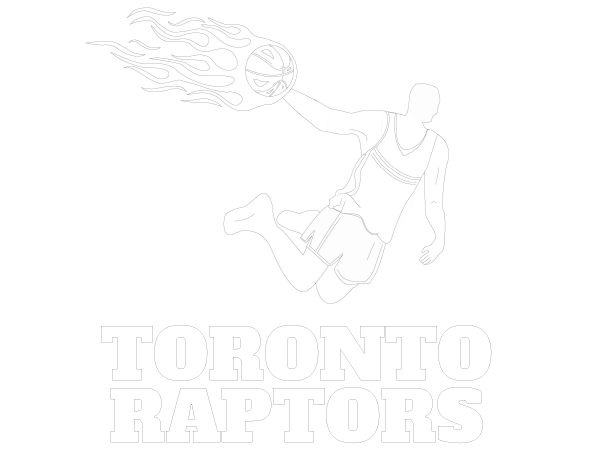 Printable Toronto Raptors Coloring