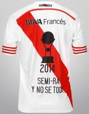 Camiseta Adidas River Plate Campeón Copa Sudamericana 2014