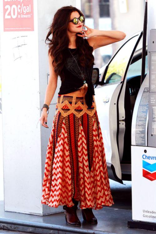 Selena Gomez #bohochic
