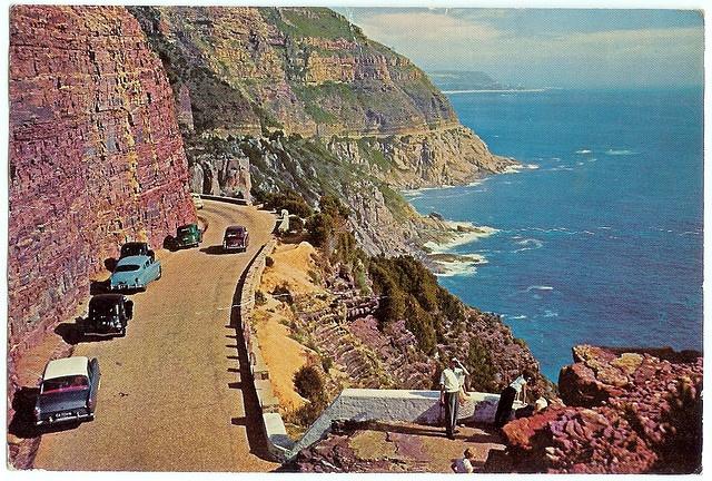 Chapmans Peak, 1968 postcard