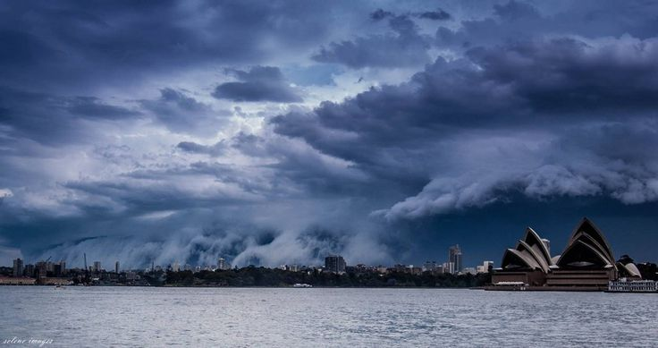 And it looked like a gigantic tsunami was engulfing Sydney's Eastern Suburbs.   25 Times Australia's Weather Was Batshit Insane In 2015