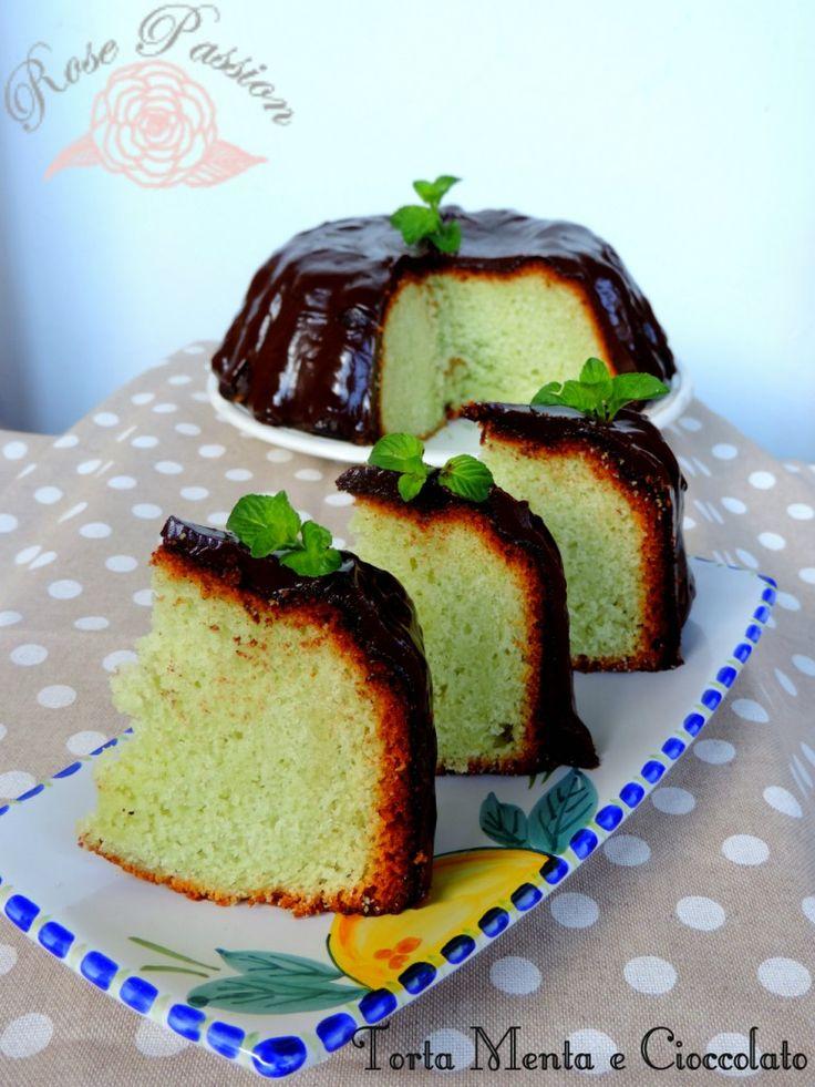 Torta menta e cioccolato | Rose Passion