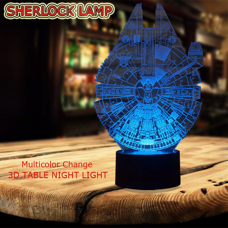 Star Wars Millennium Falcon 3D LED Lamp Cool Boy Bedroom Night Light Trek Decor Bulbing Kids Toys Child Gift Luminaria Gadget |  Compare Best Price for Star Wars Millennium Falcon 3D LED Lamp Cool Boy Bedroom Night Light Trek Decor Bulbing Kids Toys Child Gift Luminaria Gadget product. Here we will provide the best deals of finest and low cost which integrated super save shipping for Star Wars Millennium Falcon 3D LED Lamp Cool Boy Bedroom Night Light Trek Decor Bulbing Kids Toys Child Gift…