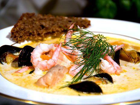 Giraffens fisk- och skaldjursgryta | Recept.nu