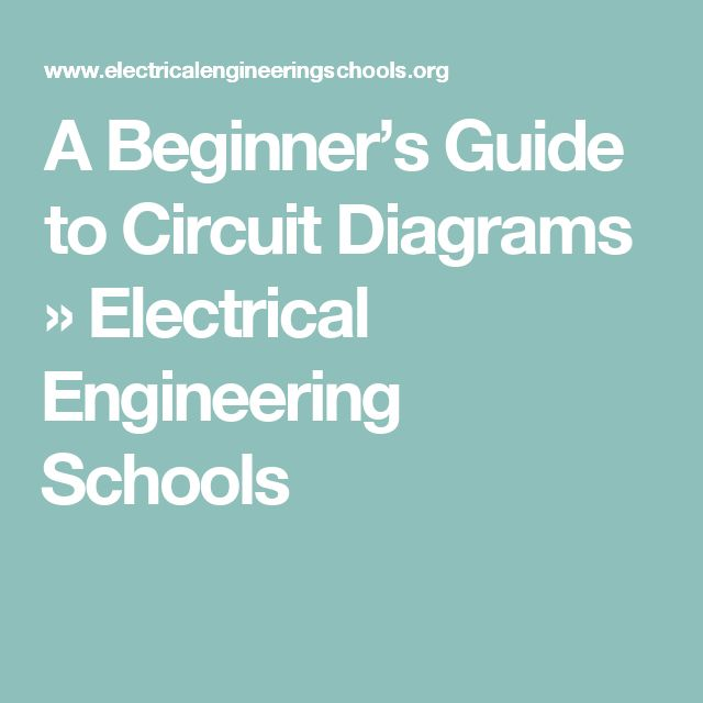 Electronic Circuit Diagram Symbols The Little Circuit Symbols